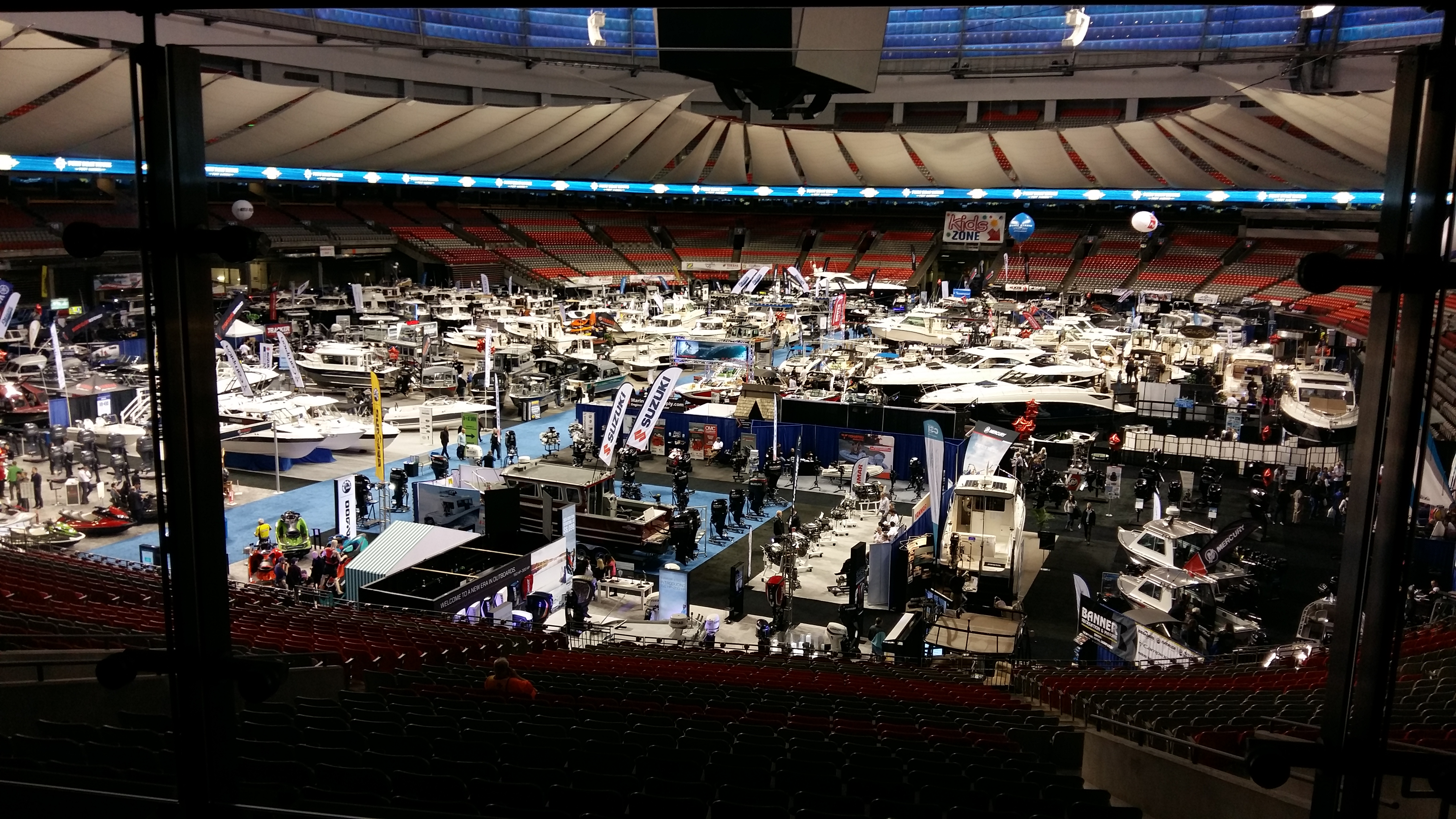 Vancouver International Boat Show January 2018  Yachts Exhibitors