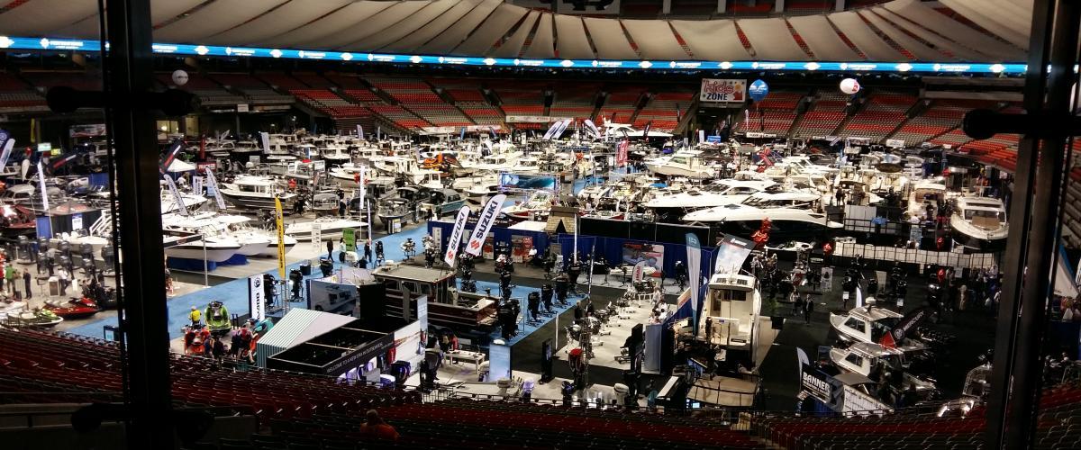 Vancouver International Boat Show January 2018  Yachts Exhibitors